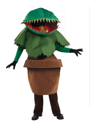 Venus Fly Trap Costume - best worst Halloween costumes