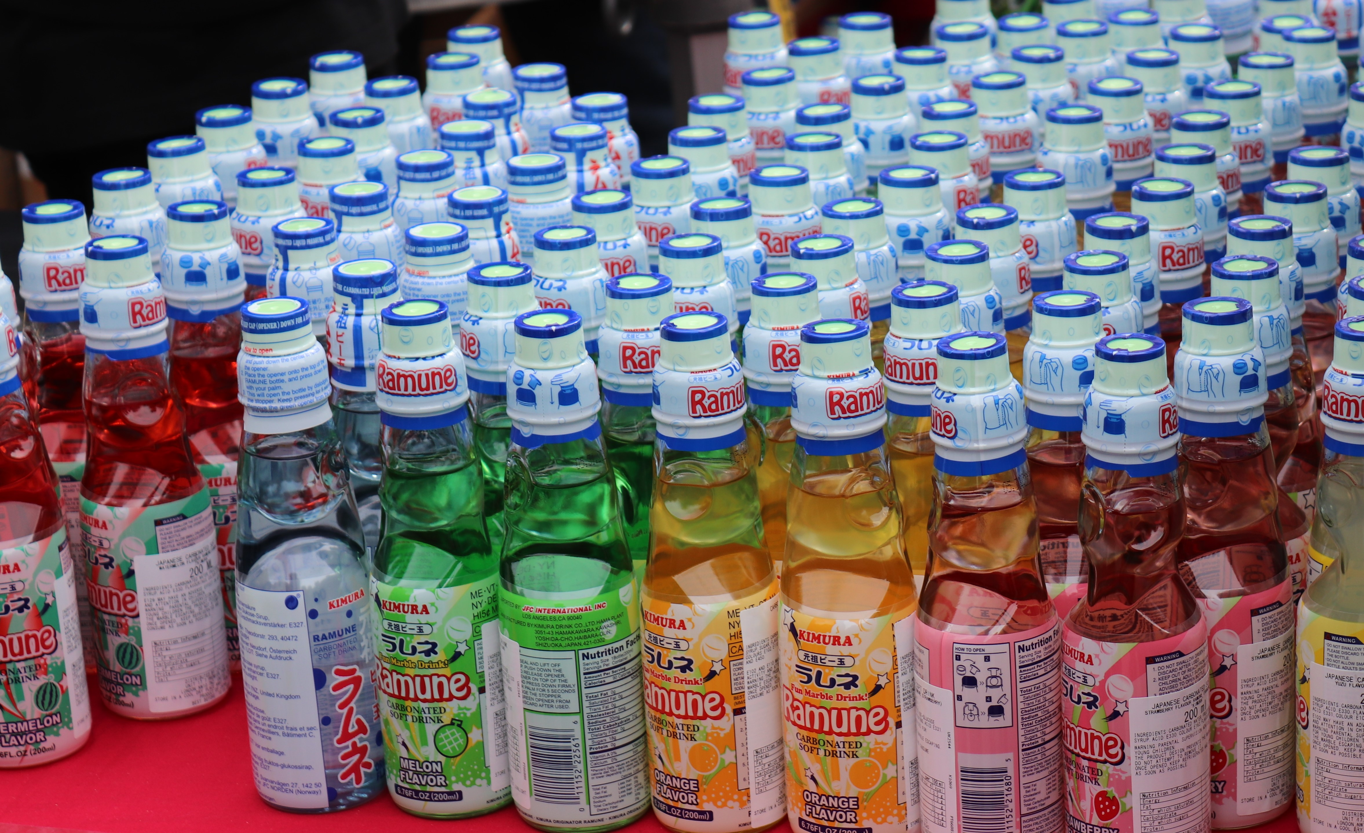 Lemonade popular in Japan - Ramune