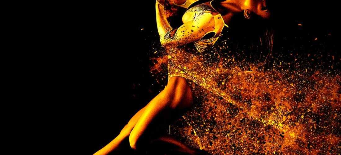 art dancing female flame learning aerial silks circus arts