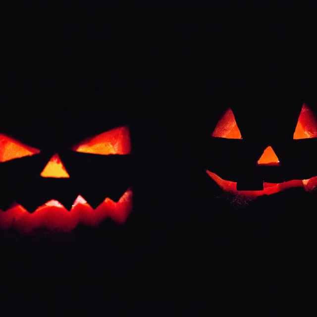 backlit black candle candlelight Halloween October Autumn