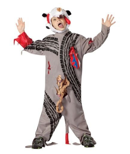 Roadkill fancy dress costume sold by Rasta Imposta. Best worst Halloween costumes 2018